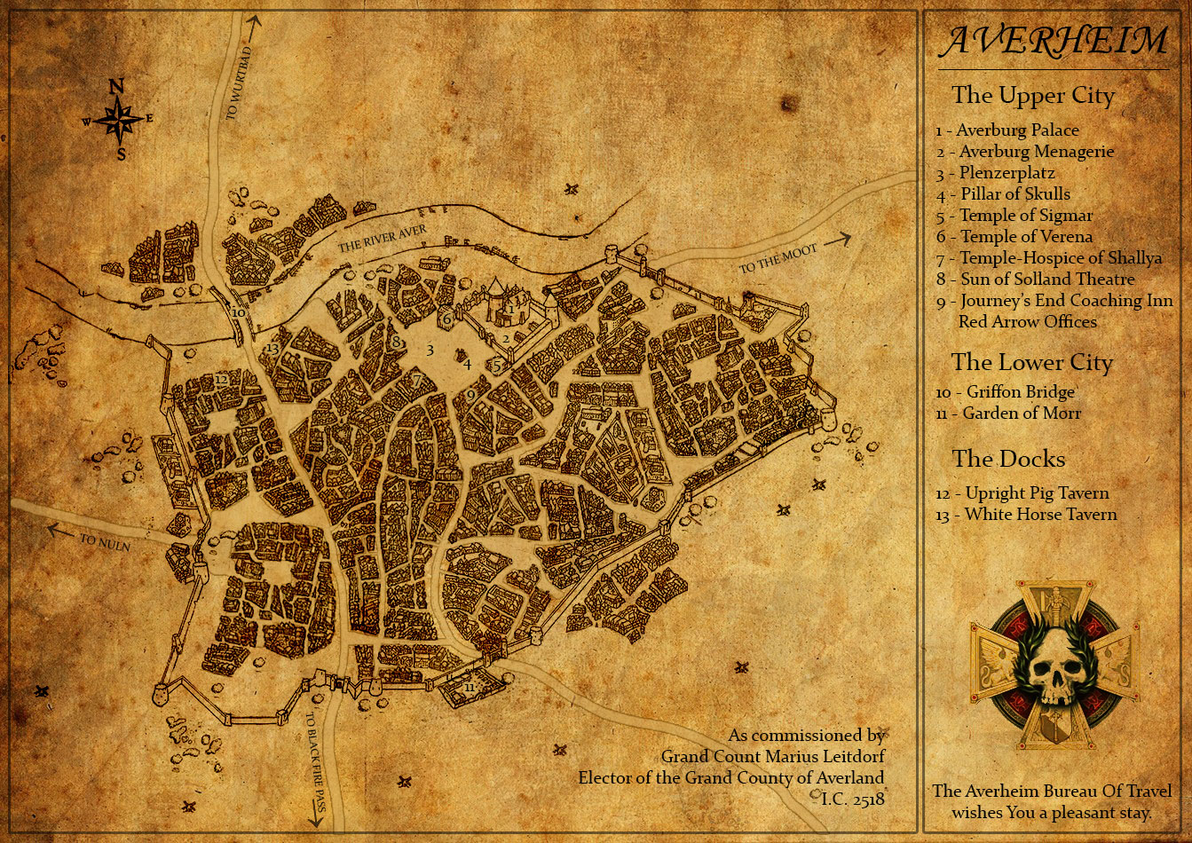 Avernheim City Map - Warhammer Fantasy Roleplay - FFG Community